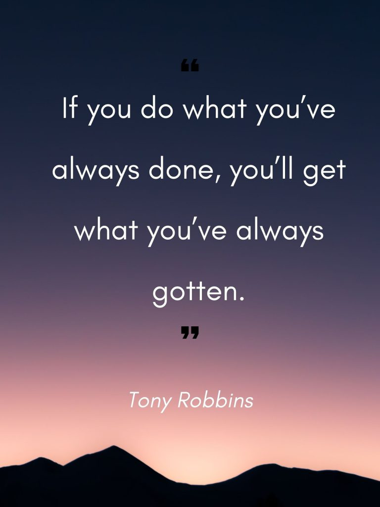 Second Quote by Tony Robbins