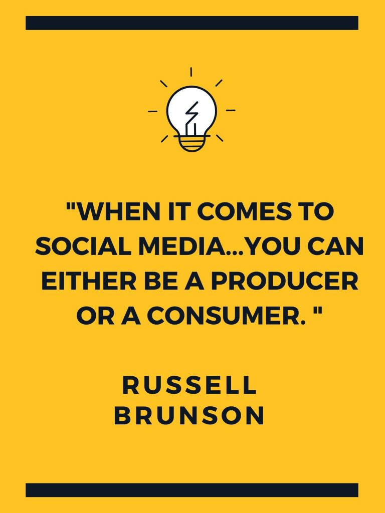 Third Quote by Russell Brunson